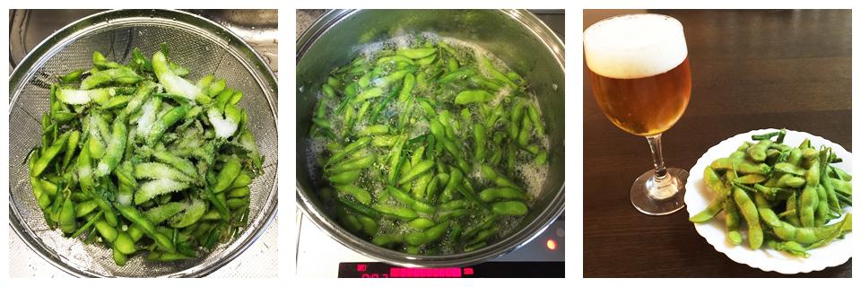 茹でるだけでシンプルに美味しい枝豆