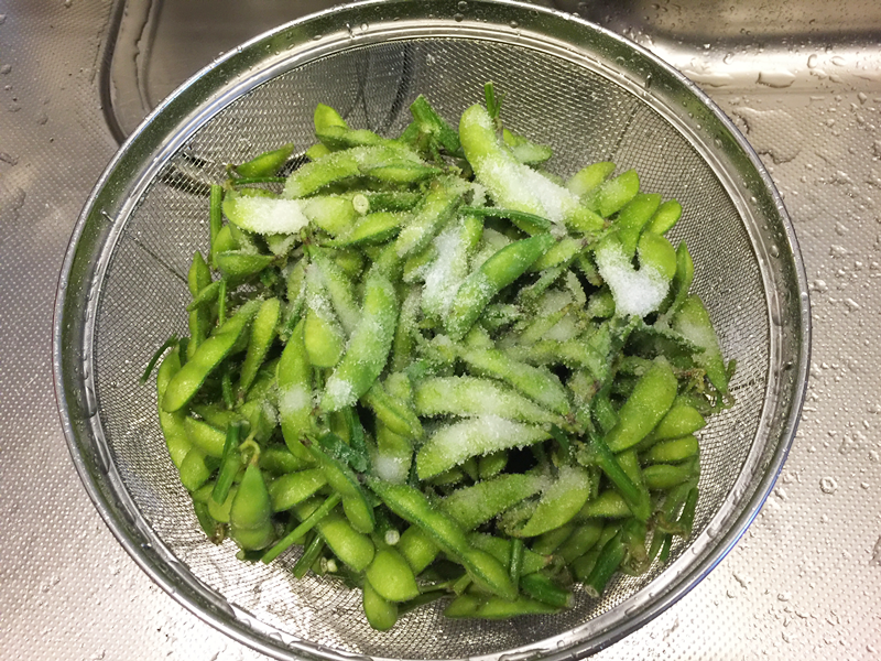 枝豆の美味しい茹で方