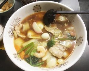美味しい広東麺