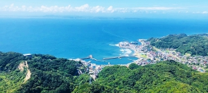 千葉県富津の風景